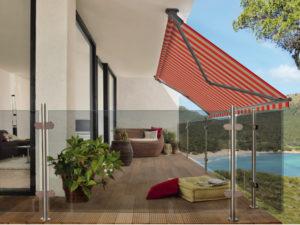 balkonova markyza pro dokonale zastineni