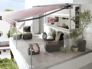 elektricka markyza na terase