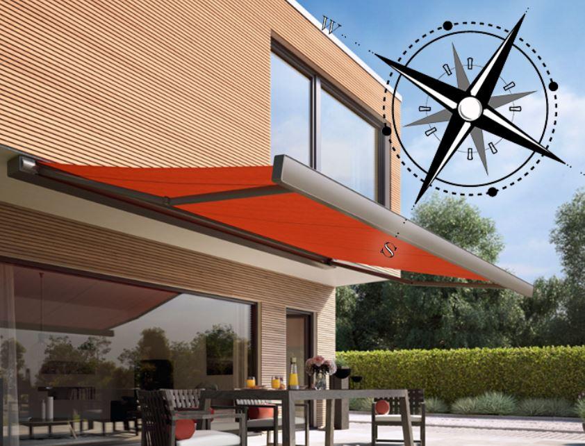 Markilux sluneční kompas